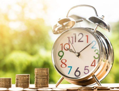 Zeitversetze Bezahlung von Lohnarten, insbesondere Zeitlohnarten